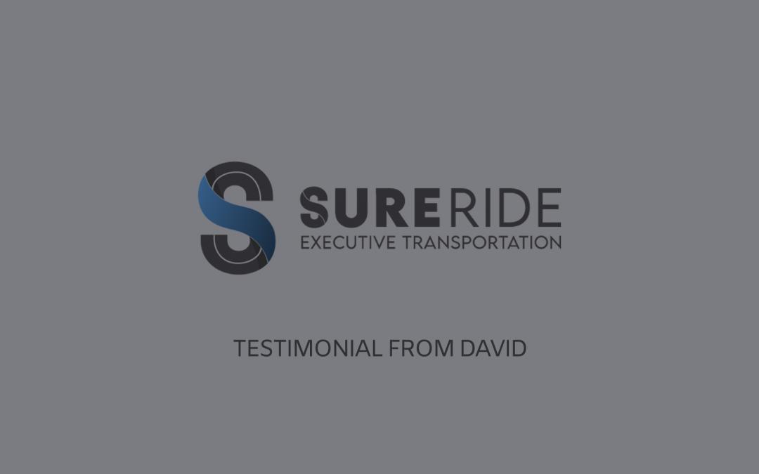 Testimonial from David